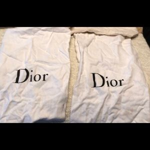 Dior dust bags